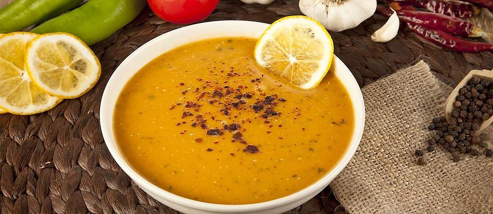 mercimek-corbas Turkish soup