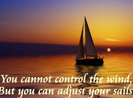 Adjusting Our Sails