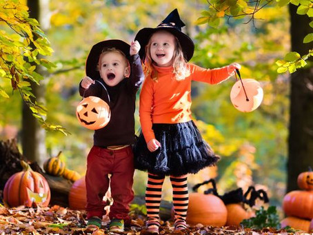 Carpet vs. Halloween treats
