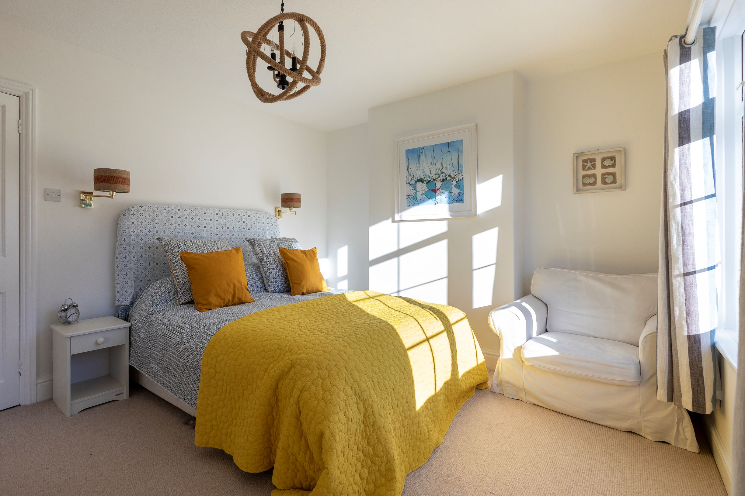 Master Bedroom The Findings Salcombe 1