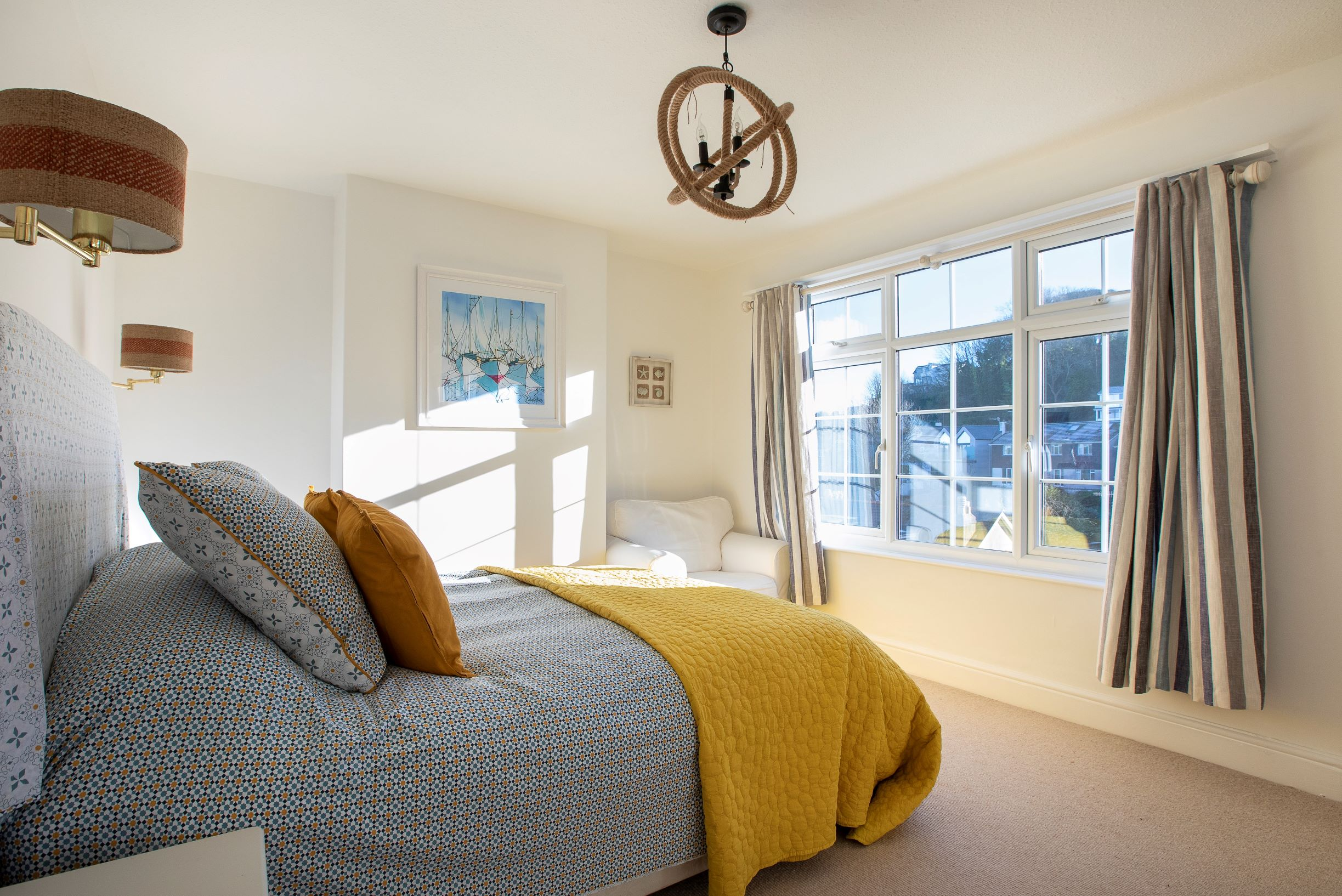 Master Bedroom The Findings Salcombe