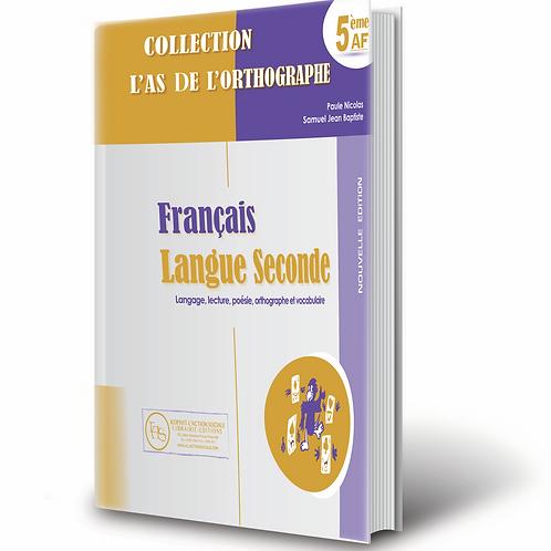 Français Langue Seconde 5AF