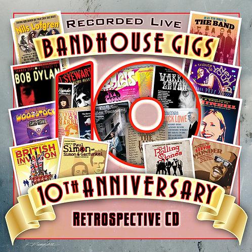 BandHouse Gigs 10th Anniversary CD