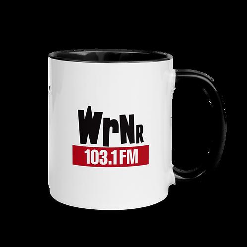 WRNR Mug with Color Inside