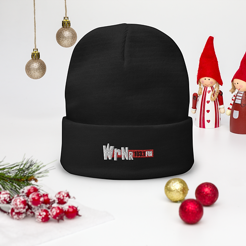 WRNR Embroidered Beanie
