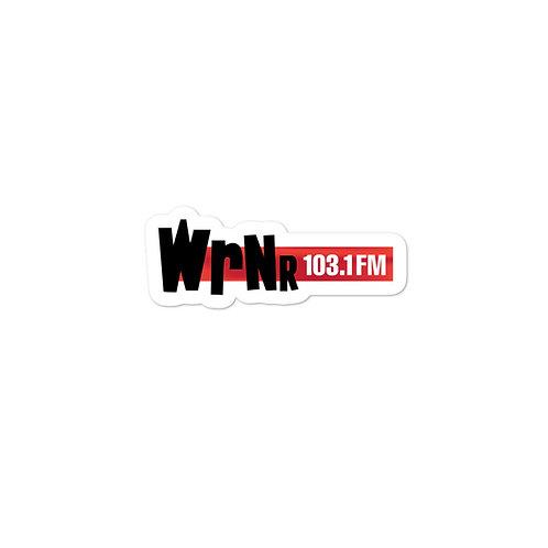 WRNR Bubble-free stickers