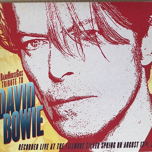 BandHouse Gigs Tribute to David Bowie CD