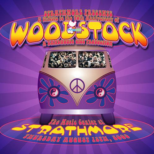 BandHouse Celebrates Woodstock's 50th Anniversary! CD