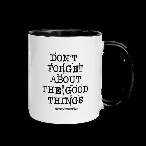 Don't Forget Mug with Color Inside