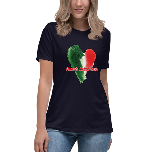 Andrà tutto bene Women's Relaxed T-Shirt