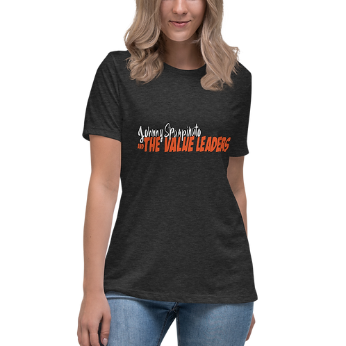 Women's Relaxed Heather Grey T-Shirt