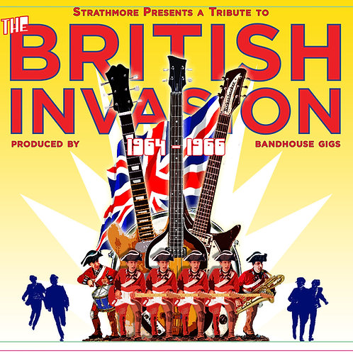 BandHouse Gigs Tribute to British Invasion CD