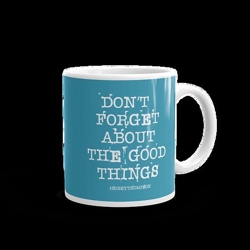 Don't Forget Mug Blue