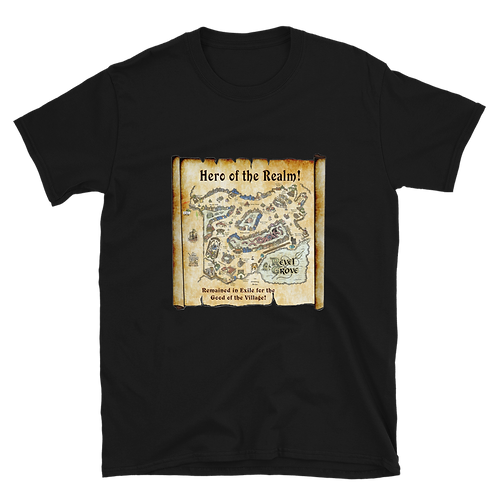 Hero of the Realm Black Unisex T-Shirt