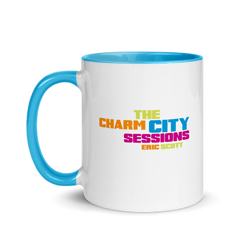 Charm City Mug with Color Inside