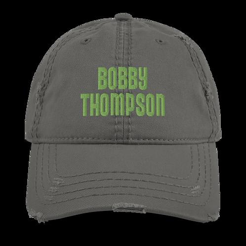 Bobby Thompson Distressed Cap