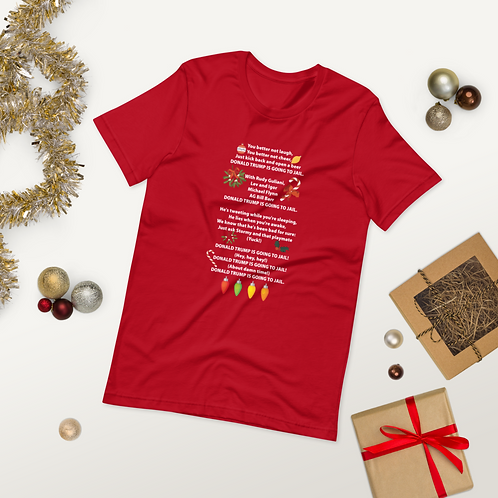 Trump Christmas Song Short-Sleeve Unisex T-Shirt