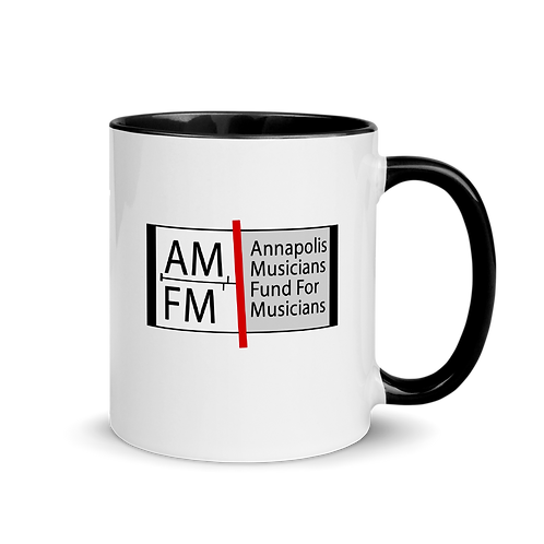 AMFM Logo Mug with Color Inside