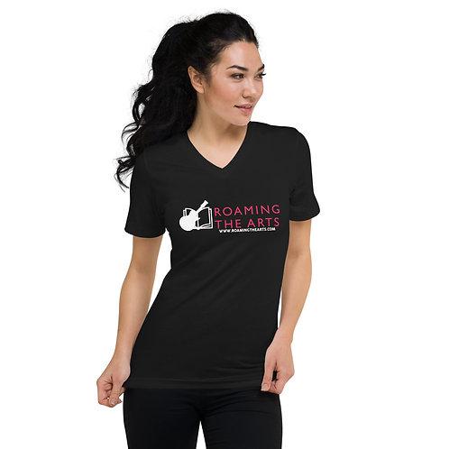 RTV Unisex Short Sleeve V-Neck T-Shirt