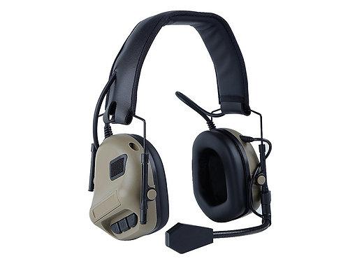 Big Foot Fifth Generation Noise Reduction Headset Simulator (Gen 5) Tan