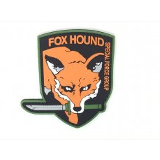 Metal gear solid Foxhound special forces patch by ACM