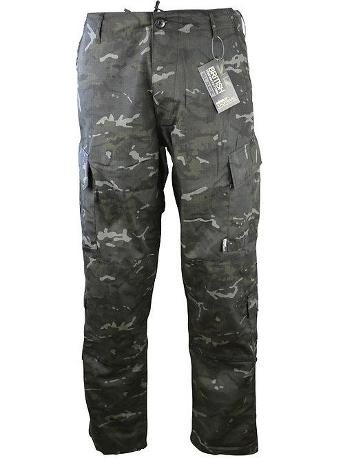 Assault Trousers - ACU Style - BTP Black