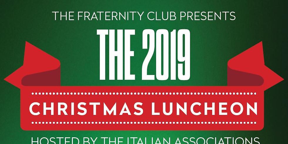 2019 Italian Associations Christmas Luncheon