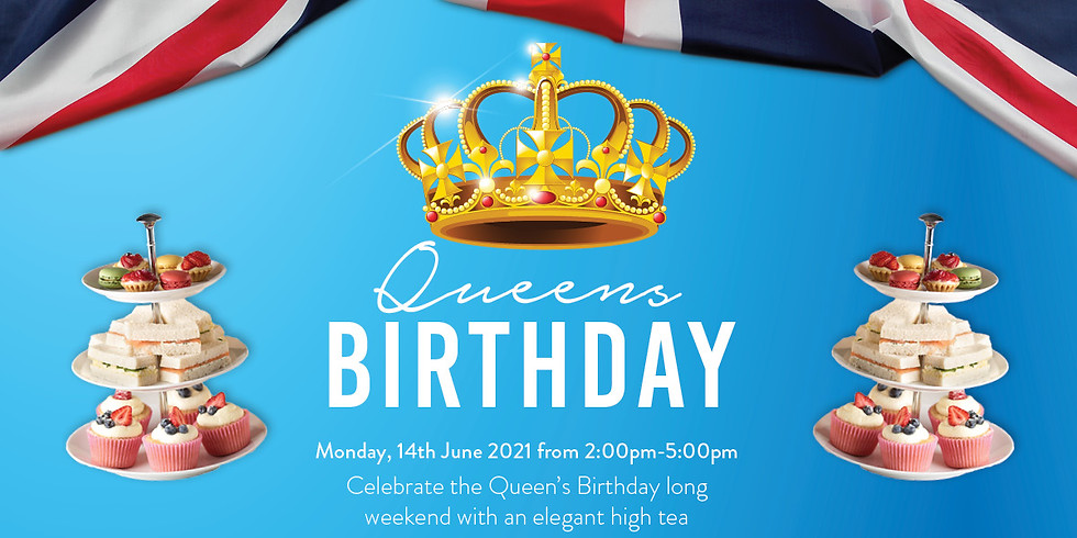 SOLD OUT! Queens Birthday High Tea