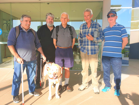 Socialisation for vision impaired at The Fraternity Club