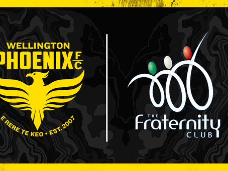 Wellington Phoenix Partner With Fraternity Club in Wollongong