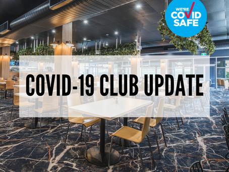 COVID-19 Club Update 21st July