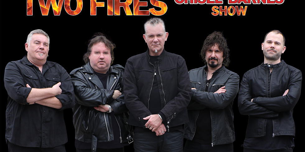 POSTPONED - Two Fires Chisel Barnes Show