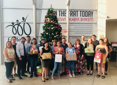 The Frat provides Christmas cheer for Southern Youth and Family Services