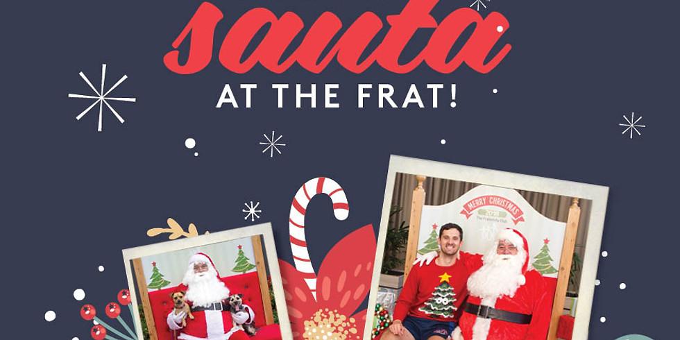 Santa Photos at the Frat