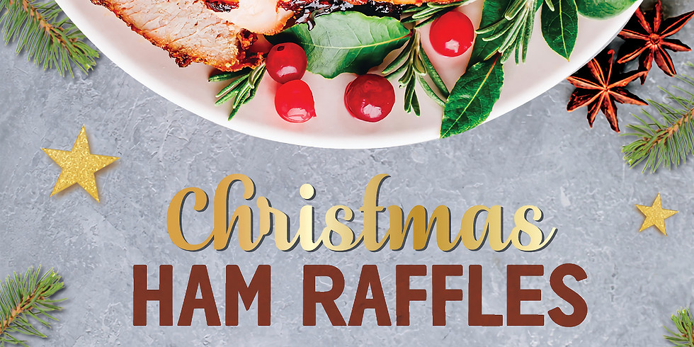 Christmas Ham Raffles