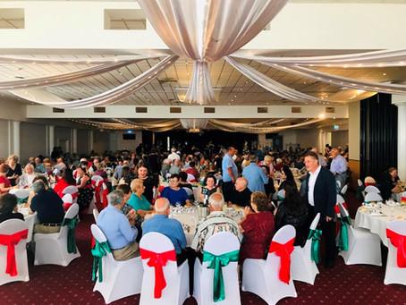 Fraternity Club celebrates Italian Associations Christmas Luncheon