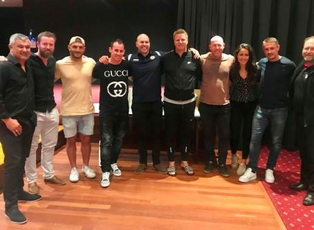 The Frat hosts football's bushfire appeal fundraiser