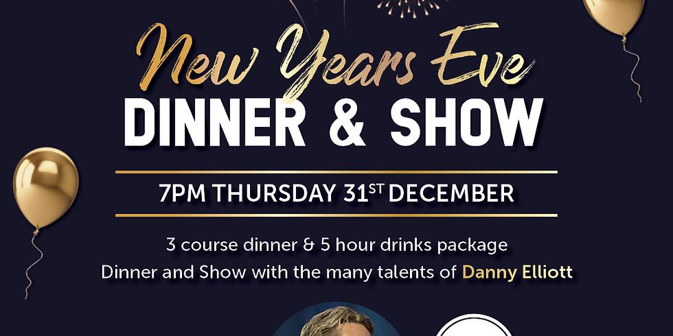 New Years Eve Dinner & Show ft Danny Elliott