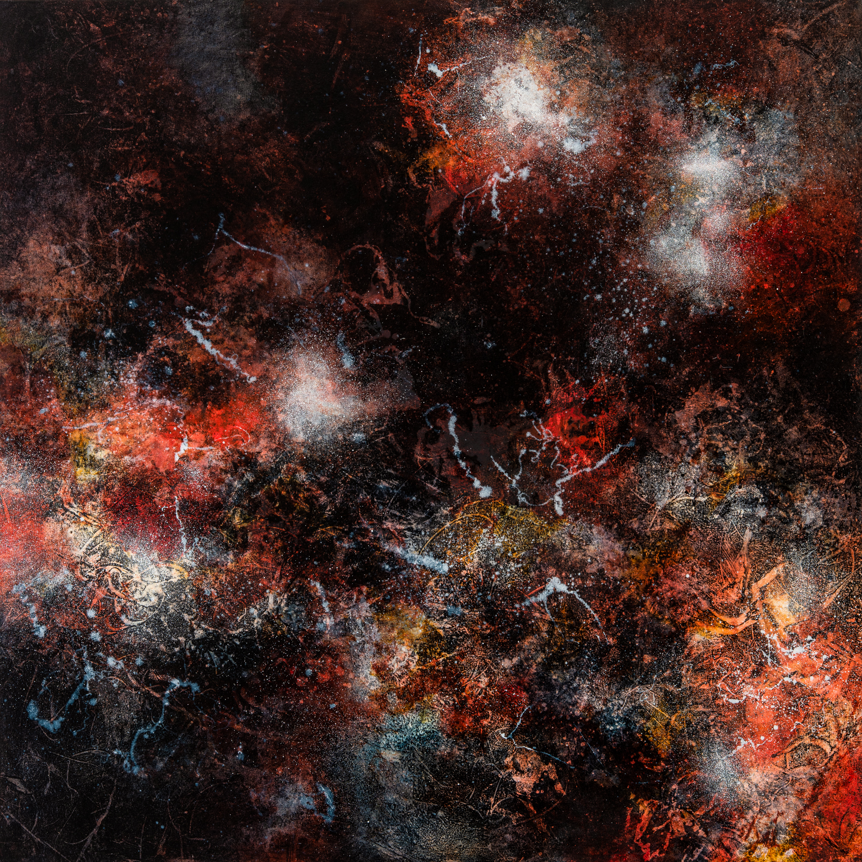 Ione Parkin RWA, Dark Phenomena, oil on
