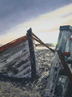 Abandoned (Windwick Bay) 2018 (40x30) -