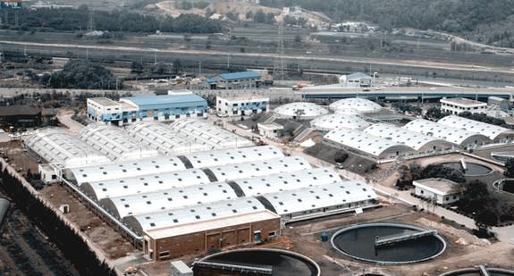 Copper Sewage Treatment Plant Aluminum Cover