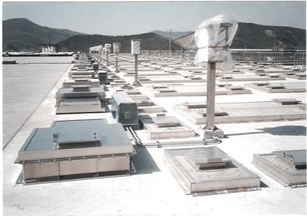 Anyang Seoksu Sewage Treatment Plant Aluminum Cover