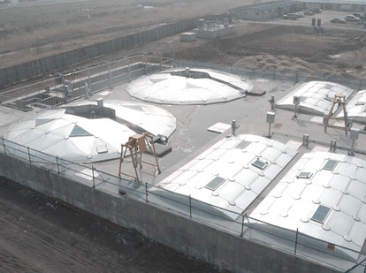 Yangju Nambang Sewage Treatment Plant Aluminum Cover
