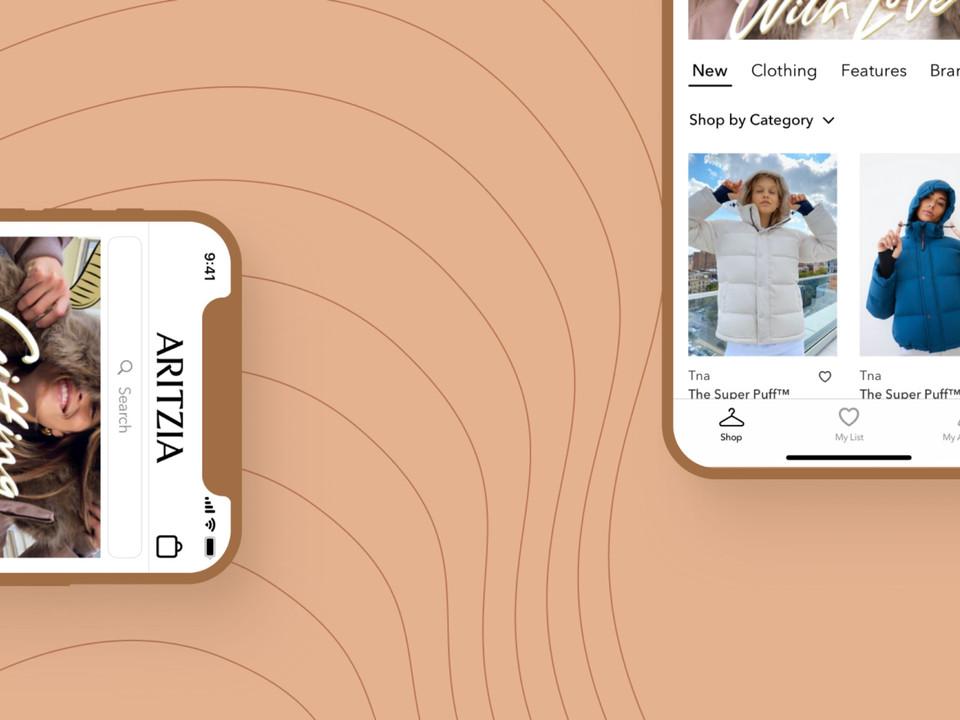 Aritzia App Concept