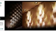 Placas de parede em 3D