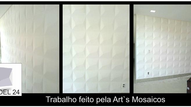 Painel decorativo da Art's Mosaicos