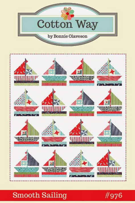 Smooth Sailing Fabric Pattern -Bonnie& Camille