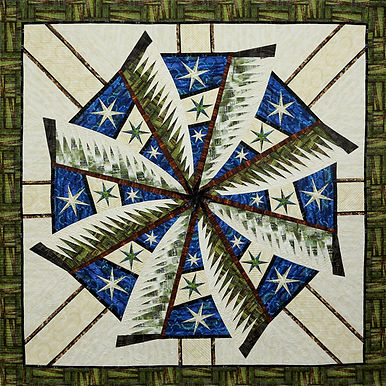 Judy Niemeyer Quilt Kit and Pattern Weathered Windmill Kit