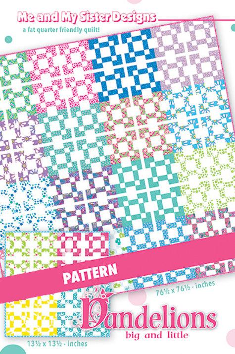 Dandelions Pattern - Me & My Sister