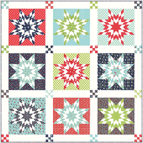 Nantucket Quilt Kit - Bonnie & Camille